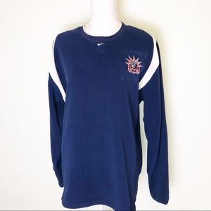 Nike NHL New York Rangers Fleece Sweatshirt